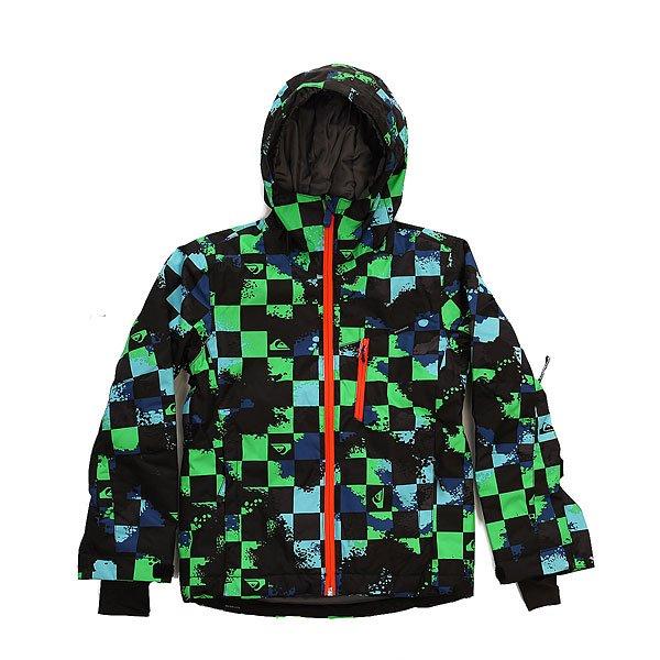 Куртка детская Quiksilver Mission Plus Waxdotcamo Check