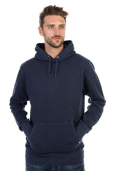 Толстовка кенгуру Quiksilver Thehood Navy Blazer<br><br>Цвет: синий<br>Тип: Толстовка кенгуру<br>Возраст: Взрослый<br>Пол: Мужской
