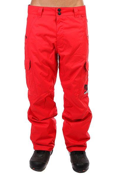 Штаны сноубордические DC Banshee Racing Red