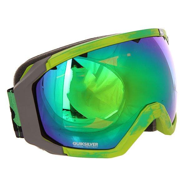 Маска для сноуборда Quiksilver Q2 Andean ToucanСферическая линза предлагает невероятную ясность и прозрачность в любом направлении взгляда. Специальное покрытие и форма предотвращают бликование и запотевание линзы, а также обеспечивают превосходное периферическое зрение.Характеристики:Оправа: 100% полиуретан. Система вентиляции. Боковая клипса для плотного прилегания к шлему. Двойная сферическая линза - исключительное периферийное зрение. 100% защита от ультрафиолетовых лучей.Покрытие против царапин и запотевания. Вентиляционные отверстия в линзе.Доступна с обычной или зеркальной линзой.<br><br>Цвет: зеленый<br>Тип: Маска для сноуборда<br>Возраст: Взрослый<br>Пол: Мужской