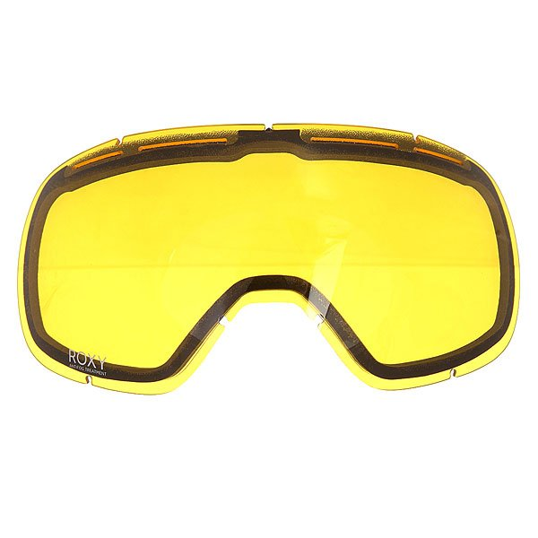 Линза для маски женская Roxy Rockferr Bas Yellow линза для маски von zipper lens feenom nls yellow