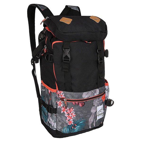 Рюкзак туристический женские Roxy Tribute Backpac Hawaiian Tropik Para