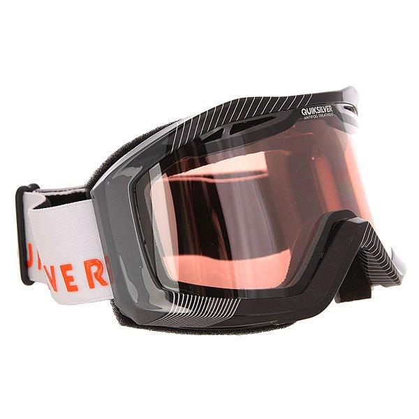 Маска для сноуборда Quiksilver Fenom FlameМужская сноубордическая маска с прочными двойными цилиндрическими линзами от Quiksilver.Технические характеристики: Устойчивые к воздействию двойные цилиндрические линзы.Оправа из полиуретана.Слой пены и флиса Polar для комфортного прилегания маски.3D фильтр из сетки.100% защита от ультрафиолетовых лучей.Перфорированная линза для оптимального воздушного потока.Покрытие против запотевания Anti-fog.<br><br>Цвет: черный,серый<br>Тип: Маска для сноуборда<br>Возраст: Взрослый<br>Пол: Мужской