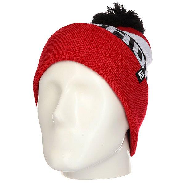 Шапка DC Chester Racing Red<br><br>Цвет: черный,красный,белый<br>Тип: Шапка<br>Возраст: Взрослый<br>Пол: Мужской