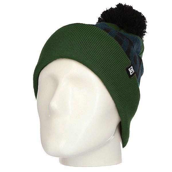 Шапка DC Chester Kombu Green<br><br>Цвет: синий,зеленый<br>Тип: Шапка<br>Возраст: Взрослый<br>Пол: Мужской