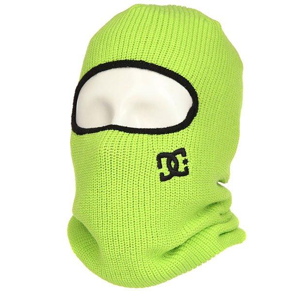 Балаклава DC Facemask Tender Shots<br><br>Цвет: зеленый<br>Тип: Балаклава<br>Возраст: Взрослый<br>Пол: Мужской