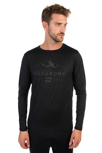 Термобелье (верх) Billabong First Layer Tech Top Black