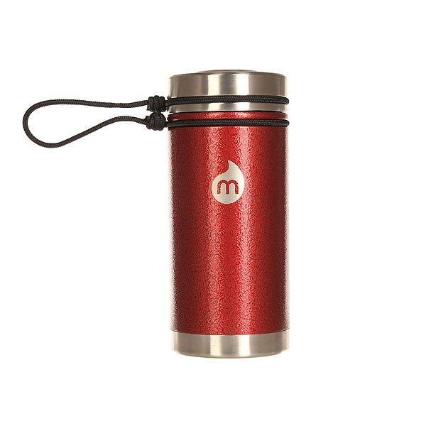 Бутылка для воды Mizu V5 Red Hammer Paint V Lid<br><br>Цвет: бордовый<br>Тип: Бутылка для воды<br>Возраст: Взрослый<br>Пол: Мужской