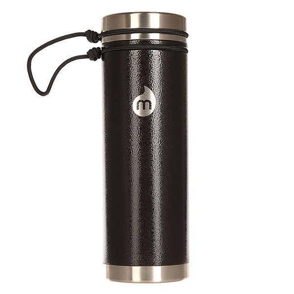 Бутылка для воды Mizu V7 Black Hammer Paint V Lid<br><br>Цвет: черный<br>Тип: Бутылка для воды<br>Возраст: Взрослый<br>Пол: Мужской