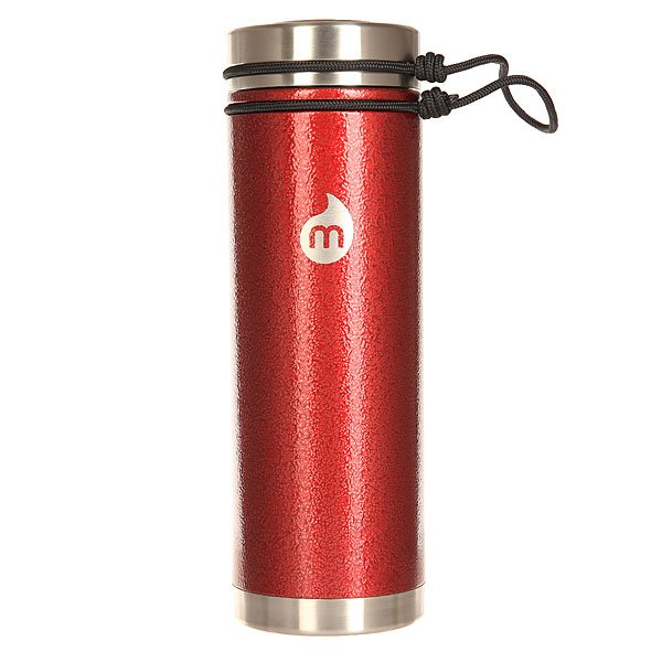 Бутылка для воды Mizu V7 Red Hammer Paint V LidБутылка с теплоизоляционной стальной крышкой прекрасно подходит как и для горячих, так и для холодных напитков. За счет широкого горлышка в нее можно положить лед, или же спокойно помыть, если вдруг в ней остались, например,ягоды, которые были в чае.Характеристики:Объем: 700 мл. Диаметр: 7,5 см. Высота (с крышкой): 22,3 см. Вес: 320 гр. Нержавеющая сталь 18/8. Широкое горлышко.Теплоизоляционная стальная крышка на жгуте. Вакуумная структура.Подходит для горячих и холодных напитков. Не содержит бисфенола (BPA Free). Многоразовое использование.<br><br>Цвет: бордовый<br>Тип: Бутылка для воды<br>Возраст: Взрослый<br>Пол: Мужской