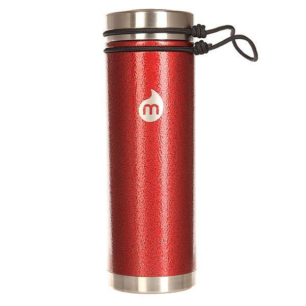 Бутылка для воды Mizu V7 Red Hammer Paint V Lid<br><br>Цвет: бордовый<br>Тип: Бутылка для воды<br>Возраст: Взрослый<br>Пол: Мужской