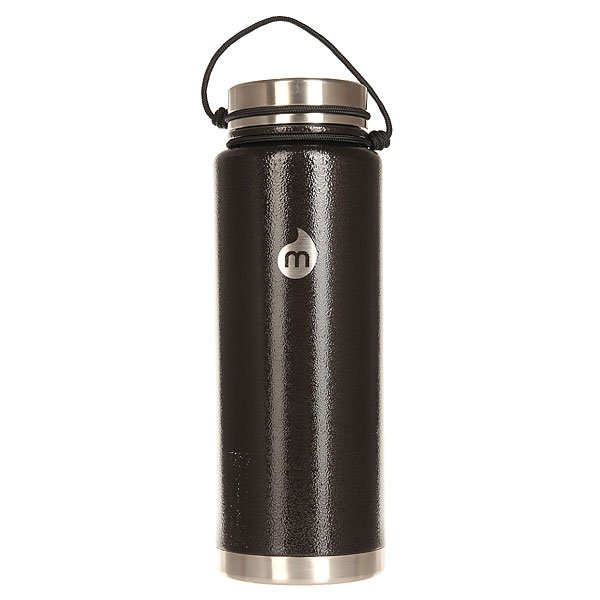 Бутылка для воды Mizu V12 Black Hammer Paint Le Drip<br><br>Цвет: черный<br>Тип: Бутылка для воды<br>Возраст: Взрослый<br>Пол: Мужской