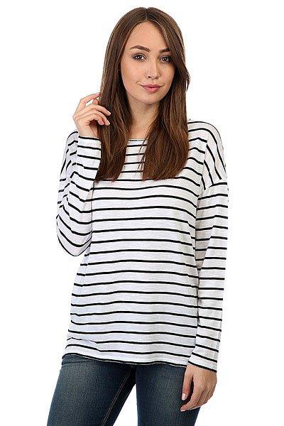 Лонгслив женский Billabong Essential Stripe<br><br>Цвет: белый,черный<br>Тип: Лонгслив<br>Возраст: Взрослый<br>Пол: Женский