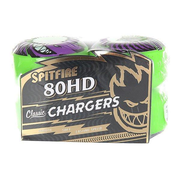 Колеса для скейтборда Spitfire Hd Charger Cls Green 80A 54 mm