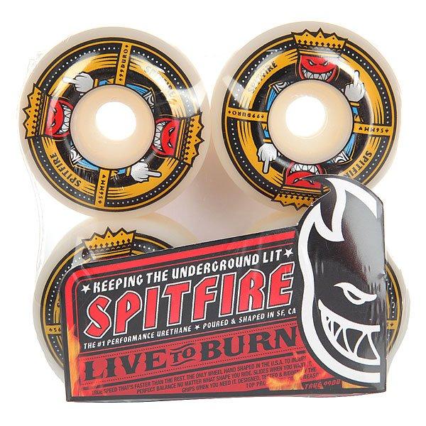 Колеса для скейтборда для скейтборда Spitfire Anti Up White/Multi 99A 56 mmДиаметр: 56 mm    Жесткость: 99A    Цена указана за комплект из 4-х колес<br><br>Цвет: белый,мультиколор<br>Тип: Колеса для скейтборда<br>Возраст: Взрослый<br>Пол: Мужской