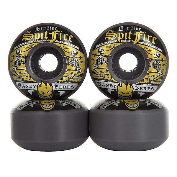 Колеса для скейтборда для скейтборда Spitfire Raney Fire Water Black 99A 53 mm