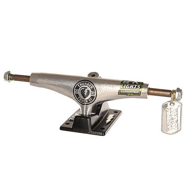 Подвеска 1шт. для скейтборда Thunder Ltd Lights Hi 147 Grey/Black 5.5 (21 см)Ширина подвесок: 5.5 (21 см)    Высота подвесок: 53 мм    Цена указана за 1 шт    Минимальное количество для заказа 2 шт<br><br>Цвет: серый,черный<br>Тип: Подвеска для скейтборда