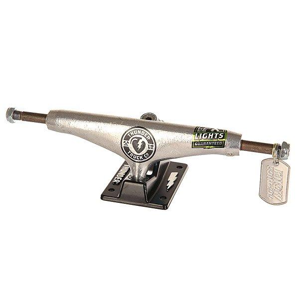 Подвеска 1шт. для скейтборда Thunder Ltd Lights Hi 149 Black/Grey 6 (22.2 см)Ширина подвесок: 6 (22.2 см)    Высота подвесок: 55 мм    Цена указана за 1 шт    Минимальное количество для заказа 2 шт<br><br>Цвет: черный,серый<br>Тип: Подвеска для скейтборда
