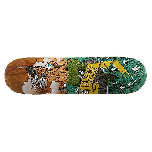 Дека для скейтборда для скейтборда Antihero Russo Sea Hags 32 x 8.4 (21.3 см)Ширина деки: 8.4 (21.3 см)    Длина деки: 32 (81.3 см)    Количество слоев: 7<br><br>Цвет: мультиколор<br>Тип: Дека для скейтборда<br>Возраст: Взрослый<br>Пол: Мужской