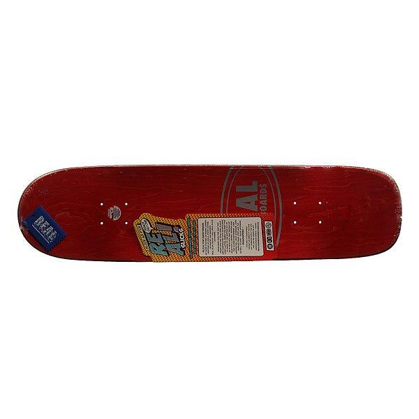 Дека для скейтборда для скейтборда Real Wair Buttery Slick 31.65 x 8.12 (20.6 см)Ширина деки: 8.12 (20.6 см)    Длина деки: 31.65 (80.4 см)    Количество слоев: 7<br><br>Цвет: бежевый,синий<br>Тип: Дека для скейтборда<br>Возраст: Взрослый<br>Пол: Мужской