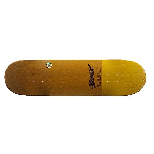 Дека для скейтборда для скейтборда Real Busenitz Ko Emb Yellow 31.84 x 8.18 (20.8 см)Ширина деки: 8.18 (20.8 см)    Длина деки: 31.84 (80.9 см)    Количество слоев: 7<br><br>Цвет: желтый<br>Тип: Дека для скейтборда<br>Возраст: Взрослый<br>Пол: Мужской