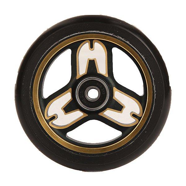 Колесо для самоката Ethic Eponymous Wheels 110 Mm GoldПростые и эффективные колеса для самоката из алюминиевого сплава 6082 T6.Технические характеристики: Сердечник из алюминиевого сплава 6082 T6.Жесткость 88 А.Диаметр 110 мм.Вес 218 гр.<br><br>Цвет: желтый,черный<br>Тип: Колесо для самоката