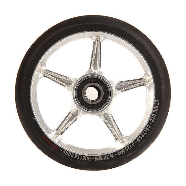 Колесо для самоката Ethic Calypso Wheel 125mm RawПростые и эффективные колеса для самоката из алюминиевого сплава 6061 T6.Технические характеристики: Сердечник из алюминиевого сплава 6061 T6.Диаметр 125 мм.<br><br>Цвет: белый<br>Тип: Колесо для самоката