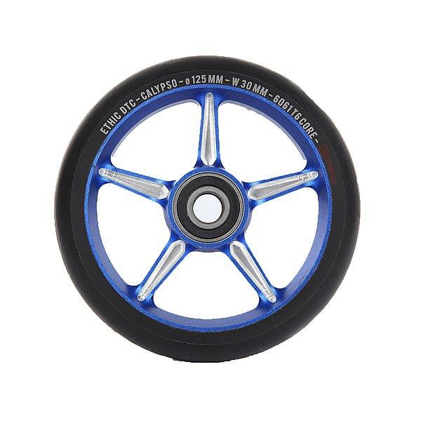 Колесо для самоката Ethic Calypso Wheel 125mm BlueПростые и эффективные колеса для самоката из алюминиевого сплава 6061 T6.Технические характеристики: Сердечник из алюминиевого сплава 6061 T6.Диаметр 125 мм.<br><br>Цвет: белый,синий<br>Тип: Колесо для самоката