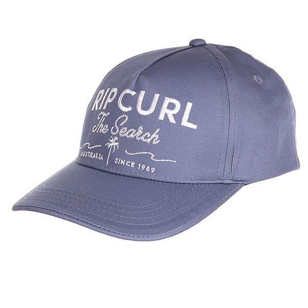 Бейсболка классическая женская Rip Curl Cap Allure<br><br>Цвет: синий<br>Тип: Бейсболка классическая<br>Возраст: Взрослый<br>Пол: Женский