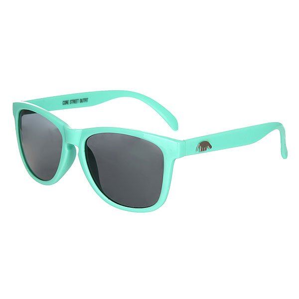 Очки Anteater Agent mintКлассические очки из пластика, линзы с защитой UV 400.Характеристики:Оправа из пластика. Металлические логотипы на дужках.<br><br>Цвет: голубой<br>Тип: Очки<br>Возраст: Взрослый<br>Пол: Мужской