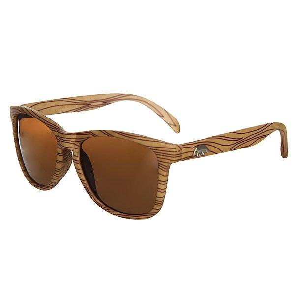 Очки Anteater Agent woodКлассические очки из пластика, линзы с защитой UV 400.Характеристики:Оправа из пластика. Металлические логотипы на дужках.<br><br>Цвет: коричневый,бежевый<br>Тип: Очки<br>Возраст: Взрослый<br>Пол: Мужской