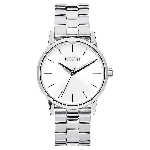 Кварцевые часы Женский Nixon Small Kensington All Silver часы женские nixon kensington all white gold o s