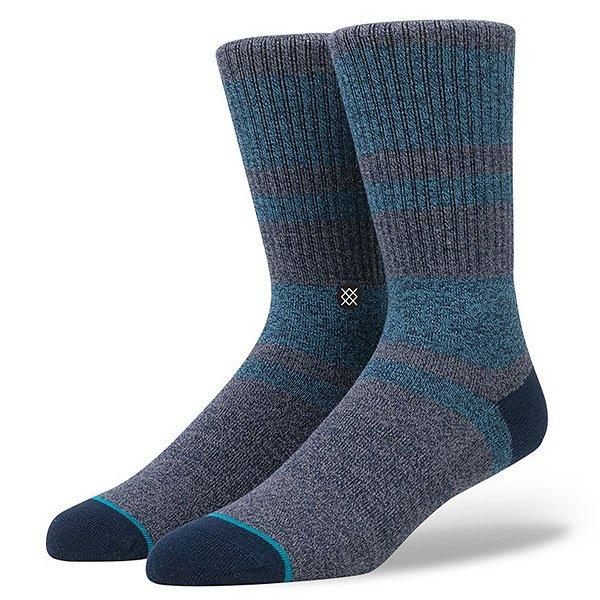 Носки средние Stance El Cap Navy<br><br>Цвет: серый,голубой,синий<br>Тип: Носки средние<br>Возраст: Взрослый<br>Пол: Мужской