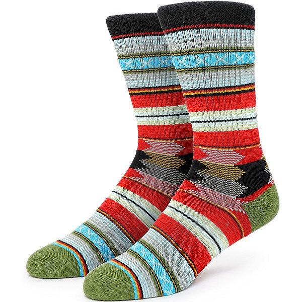 Носки средние Stance Guadalupe Black<br><br>Цвет: мультиколор<br>Тип: Носки средние<br>Возраст: Взрослый<br>Пол: Мужской