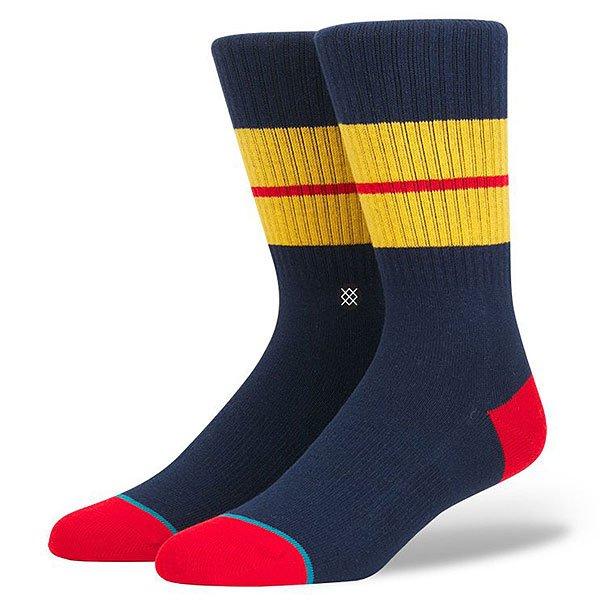 Носки средние Stance Sequoia 2 Navy<br><br>Цвет: красный,синий,желтый<br>Тип: Носки средние<br>Возраст: Взрослый<br>Пол: Мужской