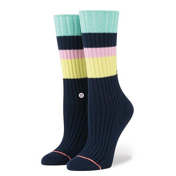 Носки средние женские Stance Basically Basic Navy<br><br>Цвет: желтый,розовый,синий<br>Тип: Носки средние<br>Возраст: Взрослый<br>Пол: Женский