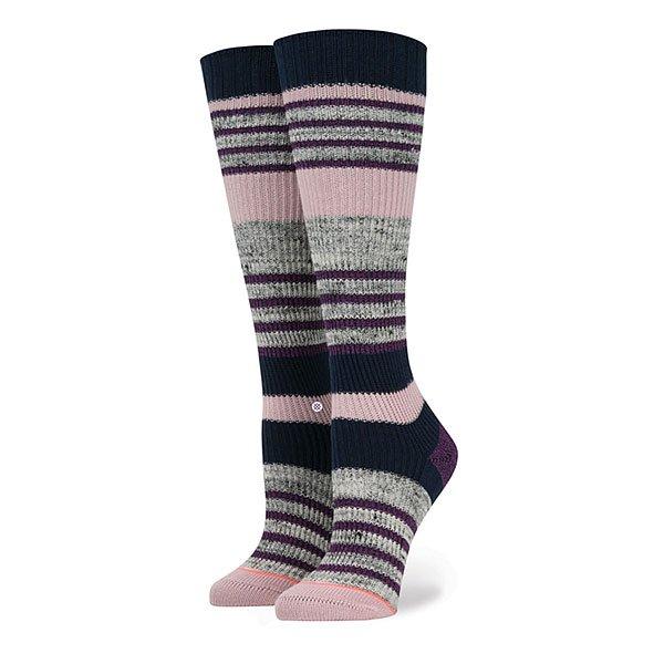 Носки высокие женские Stance Jinx Black над коленом бедро высокие носки хлопка чулки леггинсы женские женщины девушки