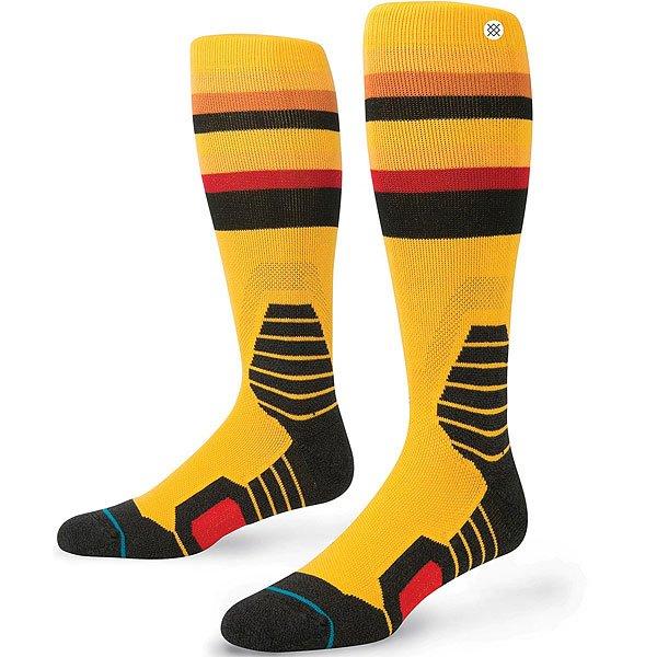 Носки высокие Stance Saw Mill Yellow<br><br>Цвет: мультиколор<br>Тип: Носки высокие<br>Возраст: Взрослый<br>Пол: Мужской