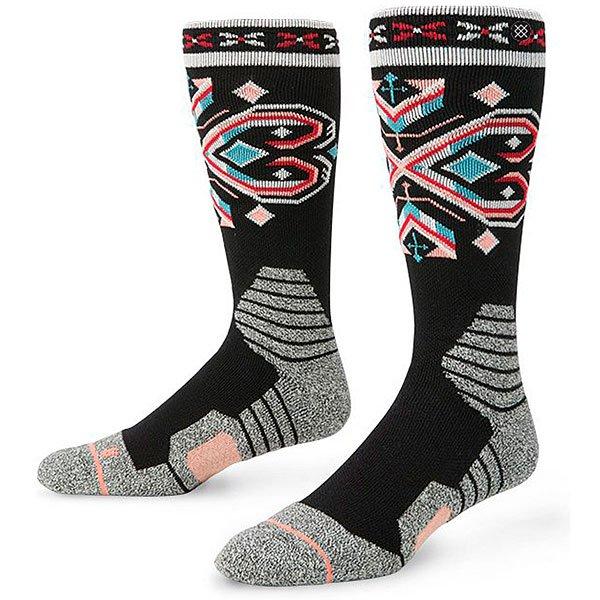 Носки средние женские Stance Kongsberg Black<br><br>Цвет: мультиколор<br>Тип: Носки средние<br>Возраст: Взрослый<br>Пол: Женский