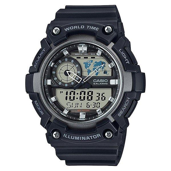 Электронные часы Casio Collection Aeq-200w-1a часы casio collection 56735 ae 1200whd 1a grey