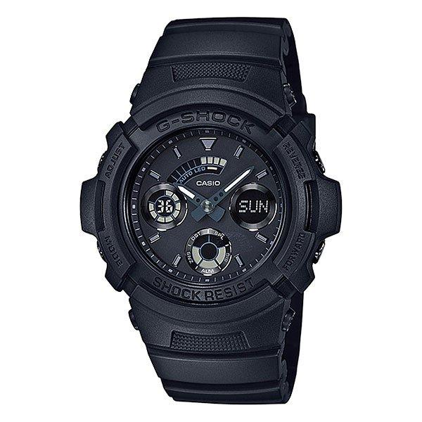 Электронные часы Casio G-shock Aw-591bb-1aМужские наручные часы из ударопрочной коллекции. Комбинированный корпус из пластика и стали надежно защищает кварцевый механизм и имеет высокую водостойкость. Цифроаналоговая индикация, автоматическая светодиодная подсветка и множество др. функций. Характеристики:Точность хода: не хуже +/-15 секунд в месяц. Элемент питания CR1220. Срок службы батареи 3 года. Электрическая светодиодная подсветка с функцией автоматической подсветки при наклоне часов к лицу.Необритовое светонакопительное покрытие обеспечивает длительное послесвечение в темноте даже после кратковременного нахождения на свету. Отображение текущего времени в основных городах и регионах мира. Автоматический календарь. Секундомер с точностью показаний 1/100 сек и максимальным временем измерения - 1 час. Таймер с функцией автоповтора. 5 ежедневных будильников. Функция повтора сигнала будильника (Snooze). Особая ударопрочная конструкция защищает от ударов и вибрации.Минеральное стекло устойчивое к возникновению царапин. Ремешок из полимерного материала. Водозащита до 20 АТМ.<br><br>Цвет: черный<br>Тип: Электронные часы