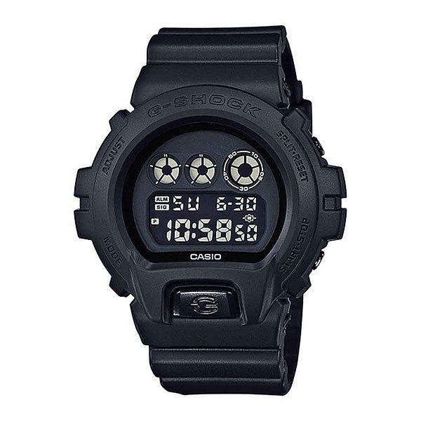 Электронные часы Casio G-shock Dw-6900bb-1eКультовая модель мужских многофункциональных спортивных часов на резиновом ремешке с высокой степенью водозащиты и электролюминесцентной подсветкой.Характеристики:Электролюминисцентная подсветка, обеспечивающая равномерное освещение всего циферблата облегчая считывание данных.Характеризуется наличием функции задержки отключения, благодаря которой электролюминесцентная подсветка горит еще несколько секунд после отпускания кнопки освещения. Секундомер с точностью показаний 1/100 сек и максимальным временем измерения - 24 час. Таймер обратного отсчета. Функция многократного сигнала позволяет устанавливать ежедневный сигнал (только время) и сигнал на определенное время в определенный день (месяц, день и время). Автоматический календарь. 12-ти и 24-й формат времени. Особая ударопрочная конструкция защищает от ударов и вибрации.Минеральное стекло устойчивое к возникновению царапин. Ремешок из полимерного материала. Водозащита до 20 АТМ.<br><br>Цвет: черный<br>Тип: Электронные часы