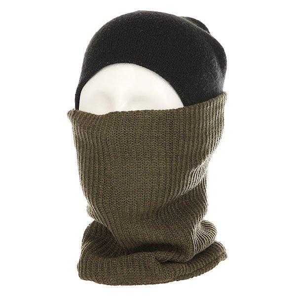 Шарф труба Billabong Neck Warmer Canteen HeatherКогда шапки и куртки недостаточно, на помощь придет шарф от Billabong. Удобный и теплый шарф для дополнительного тепла.Технические характеристики: Теплый вязаный шарф из мягкого акрила.Традиционная вязка в форме резинки.Двойная подкладка.<br><br>Цвет: зеленый<br>Тип: Шарф труба<br>Возраст: Взрослый<br>Пол: Мужской