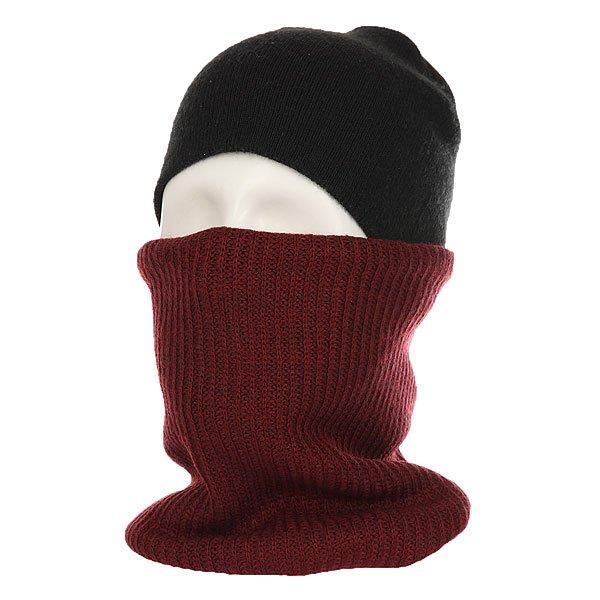 Шарф труба Billabong Neck Warmer Andorra HeatherКогда шапки и куртки недостаточно, на помощь придет шарф от Billabong. Удобный и теплый шарф для дополнительного тепла.Технические характеристики: Теплый вязаный шарф из мягкого акрила.Традиционная вязка в форме резинки.Двойная подкладка.<br><br>Цвет: бордовый<br>Тип: Шарф труба<br>Возраст: Взрослый<br>Пол: Мужской