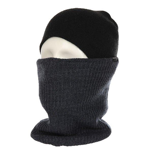 Шарф труба Billabong Neck Warmer Navy HeatherКогда шапки и куртки недостаточно, на помощь придет шарф от Billabong. Удобный и теплый шарф для дополнительного тепла.Технические характеристики: Теплый вязаный шарф из мягкого акрила.Традиционная вязка в форме резинки.Двойная подкладка.<br><br>Цвет: синий<br>Тип: Шарф труба<br>Возраст: Взрослый<br>Пол: Мужской