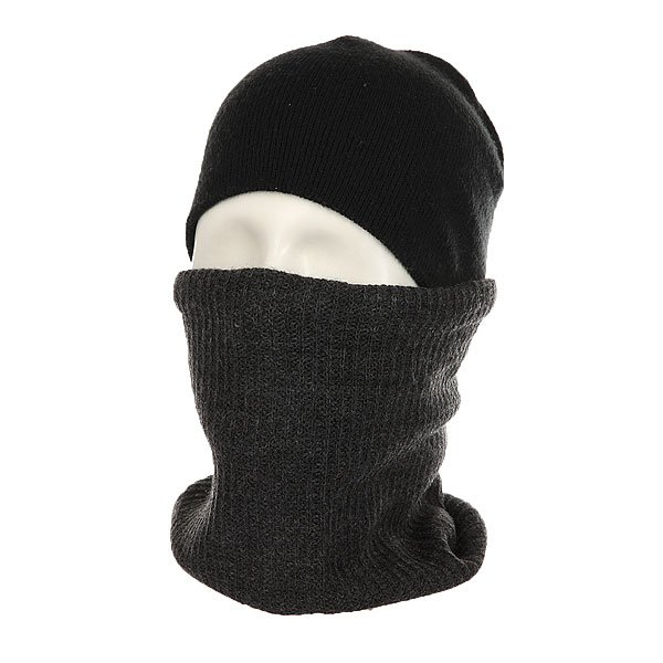 Шарф труба Billabong Neck Warmer Black Heather