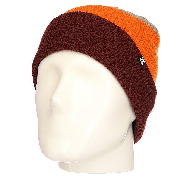 Шапка Billabong Tribong Andorra<br><br>Цвет: бордовый,оранжевый,бежевый<br>Тип: Шапка<br>Возраст: Взрослый<br>Пол: Мужской