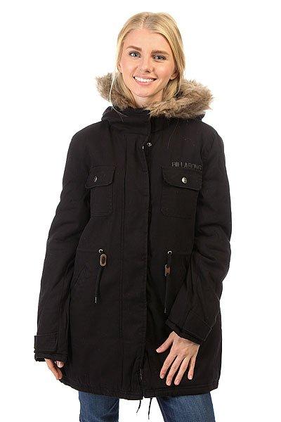 Куртка парка женская Billabong Effy Black
