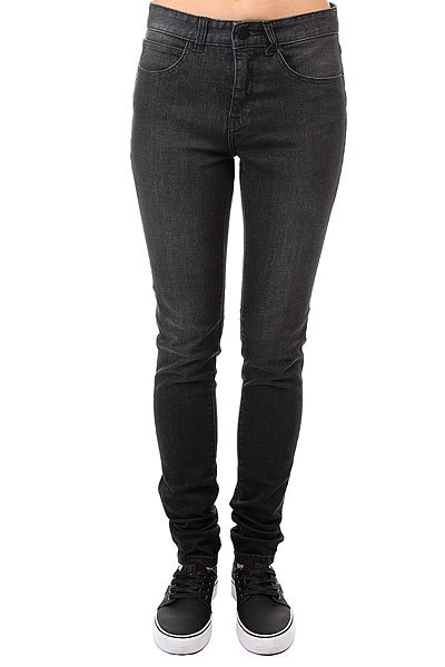 Джинсы узкие женский Billabong Night Hawks Denim Grey джинсы billabong джинсы slim outsider denim fw17