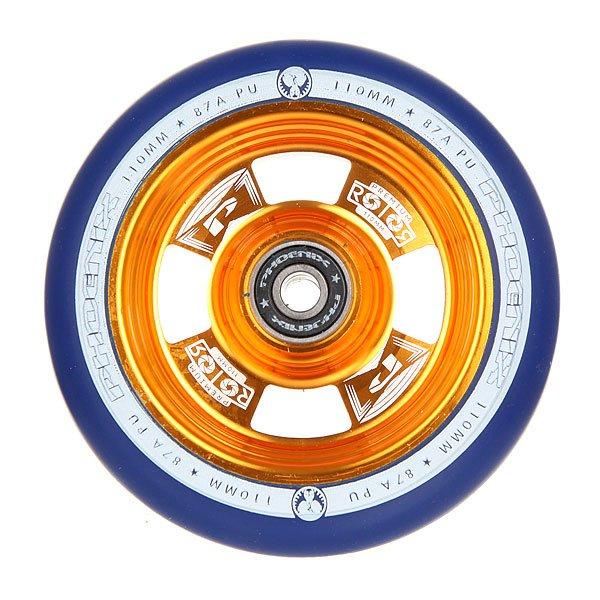 Колесо для самоката Phoenix Rotor Core Wheel 110mm With Abec 9 Bearings Gold/Navy